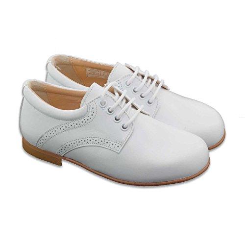 Boni Armand - chaussures blanches garçon