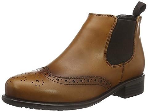 ara Damen Liverpool-St Chelsea Boots, Braun (Cuoio 60), 39 EU