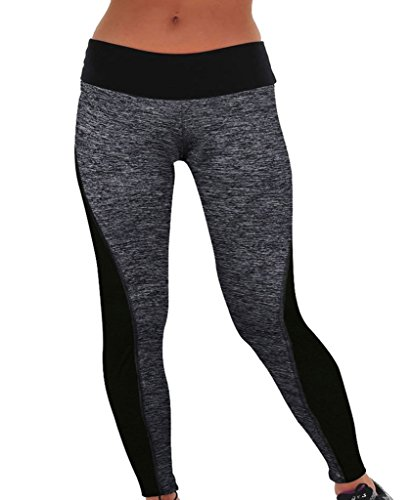 DODOING Damen Frauen Sport Hose Athletische Gymnastik Workout Fitness Yoga Leggings Hose Yogahose Pants