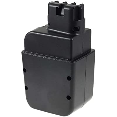 Premium Akku für metabo Bohrhammer Bh EA 12S-R+L (Flach-Kontakte), NiCd, 12V