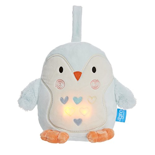 The GRO Company Light and Sound Sleep Aid, Percy The Penguin Grofriend