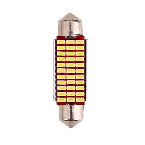 YouN Unterbrechen 1pc 41mm 33SMD Strumpfstricknadel-High Light Auto LED Codierung Leseleuchte -