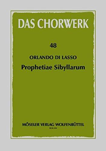 Das Chorwerk, 48:  Prophetiae Sibyllarum