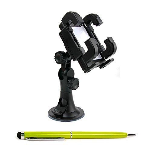 gruner-2-in-1-eingabestift-mit-integriertem-kugelschreiber-und-pkw-halterung-fur-archos-40-50-power-