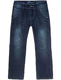 BEZLIT Kinder Jungen Winter Thermo Stetch Jeans Hose Blau 21567