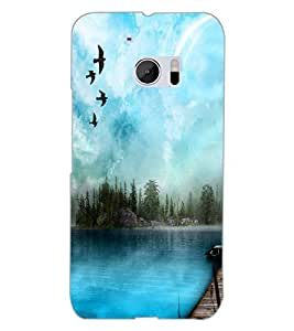 HTC ONE M10 VIEW Back Cover by PRINTSWAG