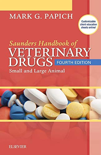 Saunders Handbook of Veterinary Drugs: Small and Large Animal, 4e por Mark G. Papich DVM  MS  DACVCP