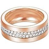 Esprit Jewels Damen-Ring 925 Sterling Silber Pure Pave rose ESRG92214C1