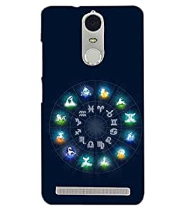 PrintDhaba SUNSIGNS D-6667 Back Case Cover for LENOVO K5 NOTE (Multi-Coloured)