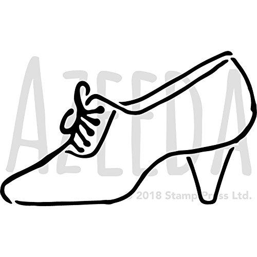 A3 Tap Shoe Wall Stencil Template