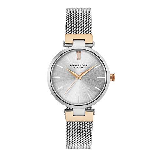 Kenneth Cole New York Mujer Reloj De Pulsera Analógico Cuarzo Acero Inoxidable kc50543003