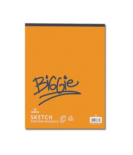 Canson Biggie Sketch Pads 9 in. x 12 in. pad of 100 by Canson