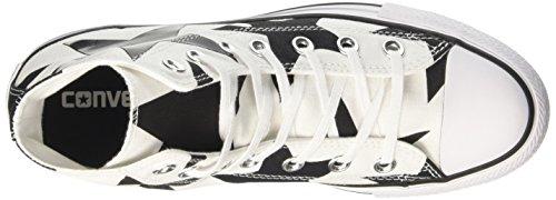 Converse Damen Ctas Hi Sneakers Mehrfarbig (White/black/white)