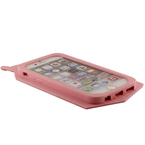 """Coque pour Apple iPhone 7 Plus 5.5"""", Silicone Gel Case, Ultra doux, Original Joli Boîte à Boissons 100% Borys Tears Apparence Couleurs variées Rose"""