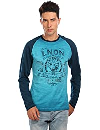 LNDN HOUR Long Sleeves New Stylish Tiger Printed Round Neck Cotton Tshirt . Full Sleeves, Latest High Quality...