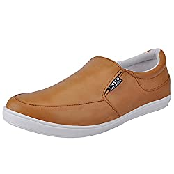 Fausto Fst 1650 Mens Tan Loafer-10 Uk