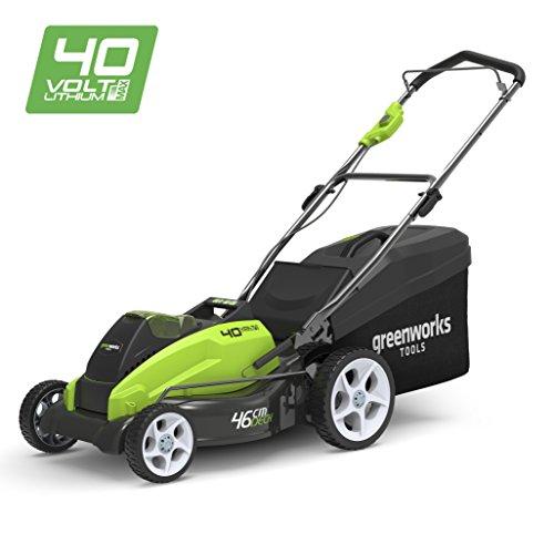 Greenworks Cortacésped inalámbrico de 45cm, 40V Li-Ion (sin batería ni cargador) - 2500107