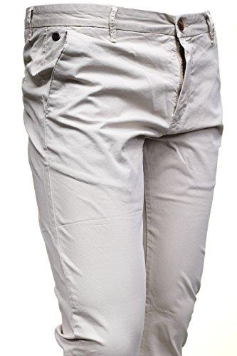 Kenzarro - Chino Kd67003 Chino Off White Gris