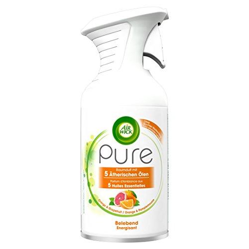 Air Wick Premium-Duftspray Pure Belebend, Orange & Grapefruit, 2er Pack (2 x 250 ml)