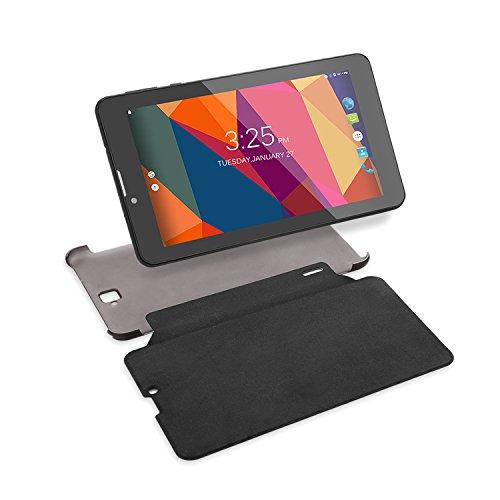 Winnovo M750K Tablette Tactile 7 'Android 5.1 3G Téléphone avec Étui de Protection 1024x600 IPS Écran Double SIM 8Go RAM Wifi Bluetooth GPS Téléphone GSM PC (Noir)