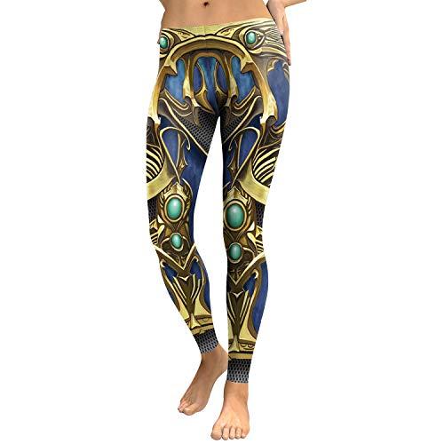 cfcde630079 MAOYYMYJK Womens Yoga Pants Armor Digital Printing Leggings Stretch Tights  Custom