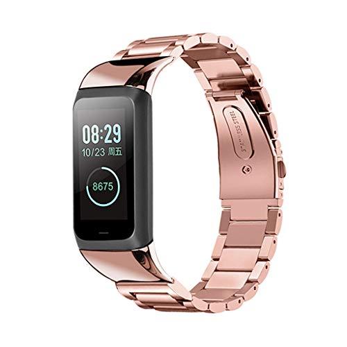 Kompatibel mit Fitbit ACE Armband,12shage Metall Ersatzband Band Armbänder Uhrenarmband