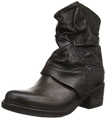 A.S.98 719207-0101-0001, Damen Biker Boots, Braun (Choco+Nero+Nero), 36 EU