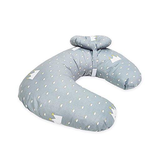 Miracle Baby Oreiller d'Allaitement En Coton 100% Laisser Bébés Confortable Sur Le Sommeil