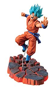 Banpresto - Figurine DBZ - God Son Goku Sculture Ressurection 14cm - 3296580335725