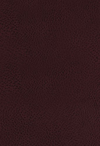 KJV, The King James Study Bible, Bonded Leather, Burgundy, Indexed, Full-Color Edition
