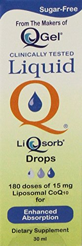 LiQsorb Liposomal Coq10 Drops (30ml)