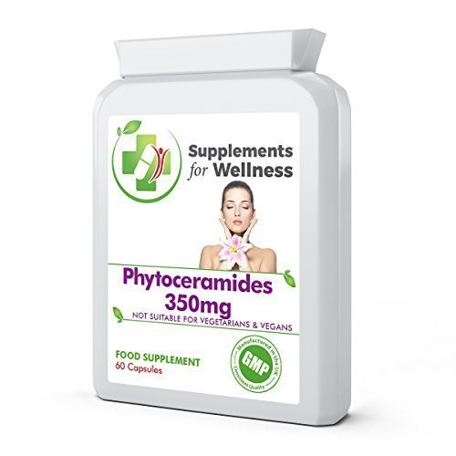 Phytoceramides 350mg, 60 Gélules - Préserve apparence saine peau