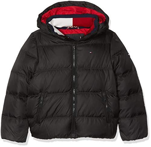 Tommy Hilfiger Jungen Jacke Essential Basic DOWN Jacket Grün (Hunter Green 395) 164 (Herstellergröße: 14)