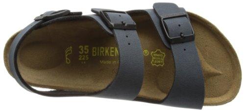 Birkenstock Classic MILANO Unisex-Erwachsene Knöchelriemchen Sandalen Grau (Basalt)