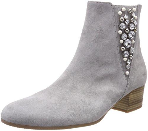 Gabor Shoes Damen Comfort Sport Stiefeletten, Grau (Grau (Micro)), 36 EU (Leder Damen Bootie)