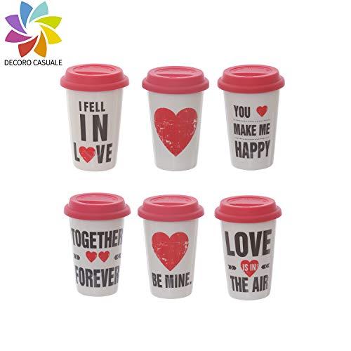 Travel mug in ceramica