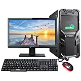 KharidiyeBasic 15-inch LED Assembled Desktop (Intel Dual Core/3.06GHZ/G31 Motherboard/4GB DDR2/500GB SATA HDD) with Keyboard and Mouse