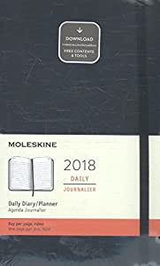 2018 Moleskine Large Daily Diary 12 Months Soft