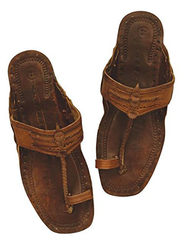 (Unisex Adult Plastic Hippie Sandals - Small)