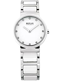 Bering Time Women's Analogue Quartz Watch 10729-754 Ceramic