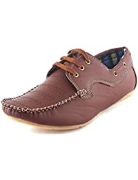 Anshul Fashion Tan Leather Loafer Shoes for Men Leather Loafer Shoe LO35