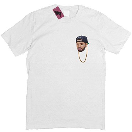 Prism Clothing Co. Herren T-Shirt XXXXX-Large Weiß