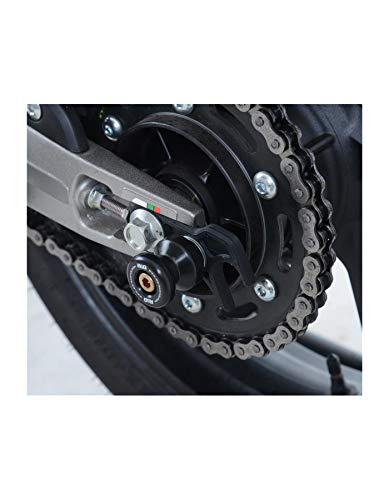 Motodak Pions de Bras oscillant R&G Racing Noir avec Platine Honda CBR250RR