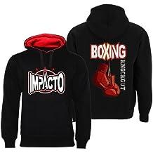 Impacto -Sudadera knockout boxing,TALLA XL