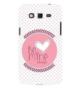 PrintVisa Designer Back Case Cover for Samsung Galaxy Grand Neo I9060 :: Samsung Galaxy Grand Lite (Quote Love Heart Messages Crazy Express Sorry )