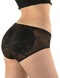 SODACODA - figurformende Po Push Up Hose mit sehr niedriger Taille und Baumkompression