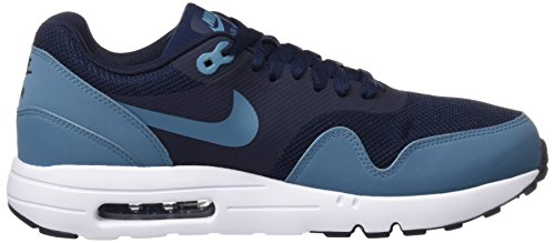 Nike Herren Air Max 1 Ultra 2.0 Essential Hallenschuhe Blau (Obsidian/marron Smokey Blue-marron Smokey Blue White)