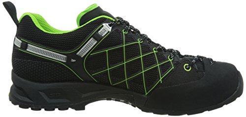 SALEWA MS WILDFIRE GTX Herren Outdoor Fitnessschuhe Schwarz (0906 Black/Emerald)