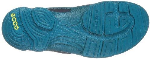 Ecco Biom Train K. Buf.Silv/Mar/Capri B S/F/S, Sneakers Basses mixte enfant Bleu - Blau (BUFFED SILVER/MARINE/CAPRI BREEZE)