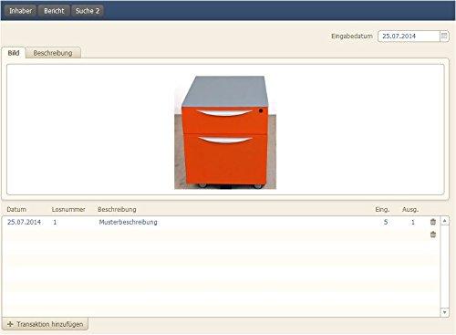 PROF-I02 Inventarverwaltung Inventarmanagement Inventardaten Verwaltung Inventar Software